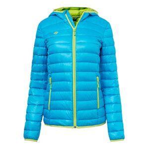 Izas Outdoor Sl izas MONTAFON III Women's Jacket multi-coloured Turquesa / Verde Limón Size:Large