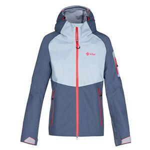 Kilpi Women's Lexay Hardshell Jacket, Blue, UK 6