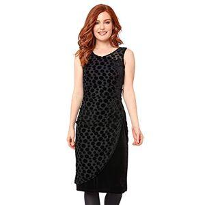 Joe Browns Women's Vivacious Vixen Dress Party, Black (Black (Size:16)