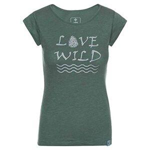 Kilpi Women's Flori T-Shirt Khaki Size UK 6