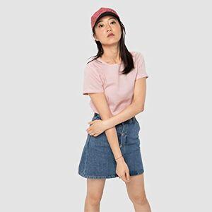 Jack Wolfskin Women's Nata River T-Shirt, Blush Pink Stripes, XS