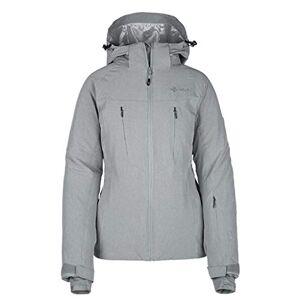 Kilpi Women's Addison Ski Jacket Grey UK 6