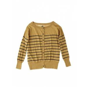 Quiksilver Women Pullover Sweetest Thing Cardigan, Dark Curry, Large