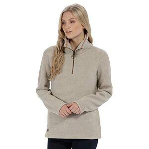 Regatta Women's Solenne Half Zip Symmetry Fleece, Beige (Warm Beige), 14