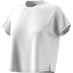 adidas Women's Atteetude Tee T-Shirt, White/White, L