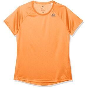 adidas Women's D2M Lose Short Sleeved Tops, Multi-Color/Narsen, Large