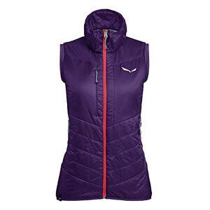 Salewa Women's Ortles Hybrid Awr Vest, Purple (Parachute/6080), 14 (Manufacturer Size: 48/42)