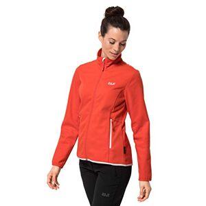 Jack Wolfskin Women's Hydro Fleece Jacket, Orange Coral, Size 6