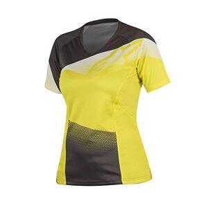 Alpinestars Women's Stella Mesa Short Sleeve Jersey, Acid Yellow/Dark Sha, X-Small
