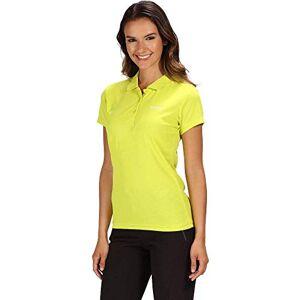 Regatta Women's Maverick IV Quick Drying Active Polo Shirt, Neon Spring, Size 18