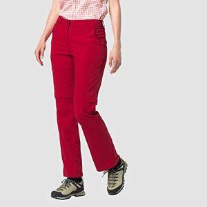 Jack Wolfskin Women's Activate Light Zip Off Hose Pants, Scarlet, 34 (EU)