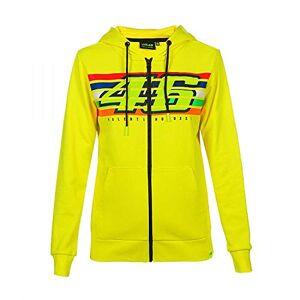 Valentino Rossi Stripes, Women's Sweatshirt, Yellow, XS