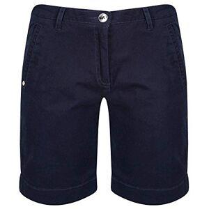 Regatta Women's Solita Cotton Multi Pocket Active Shorts, Navy, Size 18