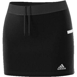 adidas T19 Skort W Skirt - Black/White, Large