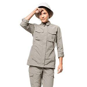 Jack Wolfskin Women's Lakeside Field Fleece Jacket, Dusty Grey, Medium