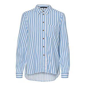 Bestseller As Vero Moda Women's VMHELENMILO LS Shirt Stripe WVN, Placid Blue, Large