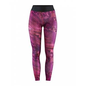 Craft Women's Training Core Essence Tights, Fame/Multi-Coloured, Large