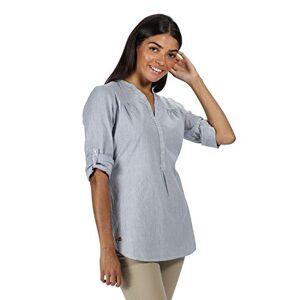 Regatta Women's Maelie' Casual Loose Top Shirts, Ticking Stripe, 8