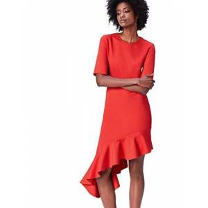 Find Amazon Brand - find. Women's Dress, Red (Rot), 8, Label:XS