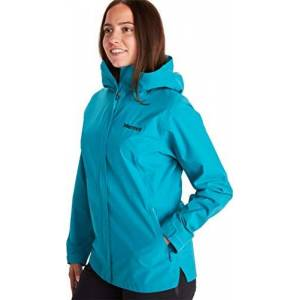 Marmot Women's EVODry Bross S Rain Jacket, Enamel Blue, XL