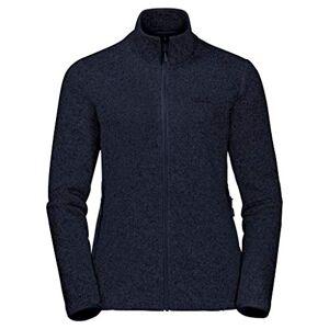 Jack Wolfskin Women's Caribou Track Fleece Jacket, Midnight Blue, Size 6