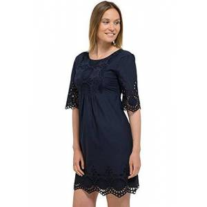 Oxbo3|#oxbow Oxbow Dance Women's Dress, Womens, Dress, OXV915443, Deep Marine, FR : S (Taille Fabricant : 1)