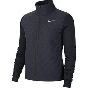 Nike Women's Aerolayer Jacke Jacket, Black/Reflective Silver, M