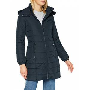 Armani Exchange Women's Alternative Coat, Navy, X-Small
