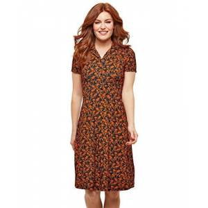 Joe Browns Women's Curious Collar Dress, Multicoloured (Multi (Size:18)