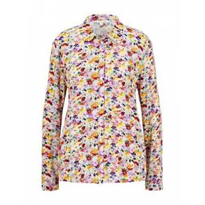 Tom Tailor Denim Women's Floralprint Bluse T-Shirt, 21588-Multicolor Flower Pr, Xx-Large