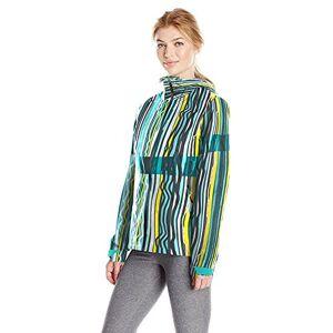 Spyder Women's Pryme Shell Jacket, French Stripe Print, X-Large