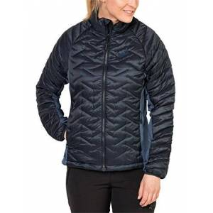 Jack Wolfskin Women's Icy Water Jacket, Night Blue, Medium