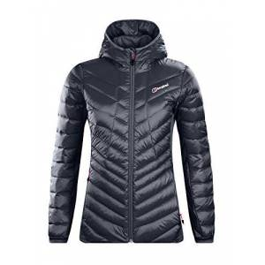 Berghaus Women's Tephra Stretch Reflect Down Jacket, Carbon, 10 (S)