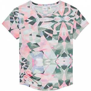 O'Neill s Lw Sublimation Print Short-Sleeved T-Shirt, Multicoloured (White/Green), XS