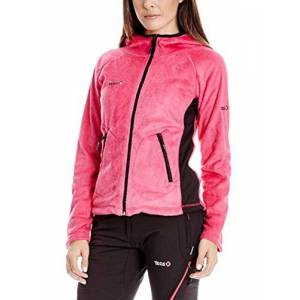 Izas6|#izas IZAS Glide Women's Fleece Jacket multi-coloured Fucsia/Negro Size:Large
