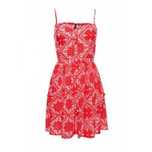Superdry Women's Amelie Cami Dress, Red (Red AOP I6t), XXS (Size:6)