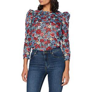 Pepe Jeans Women's Loren Blouse, Multicolour, Large