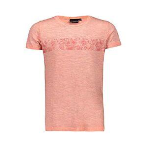 CMP Girls' T-Shirt Jersey 100% Cotone, Flamingo, 128