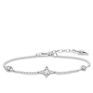 Thomas Sabo Women Silver Statement Bracelet A1918-051-14-L19v
