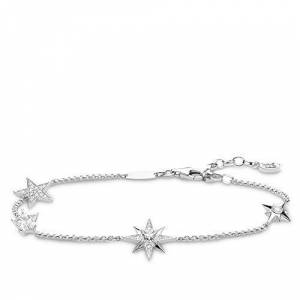 THOMAS SABO Women Silver Statement Bracelet A1916-051-14-L19v