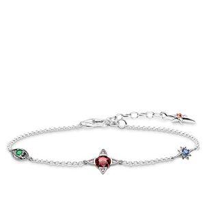 THOMAS SABO Women Silver Statement Bracelet A1913-342-7-L19v