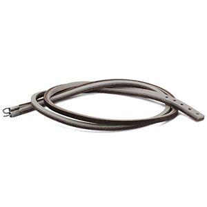Trollbeads Leather Bracelet, Brown/Light Grey, 45 cm / 17.7 inch