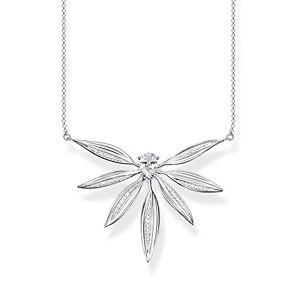 Thomas Sabo Women Sterling Silver Cubic Zirconia Necklace - KE1950-051-14-L45v
