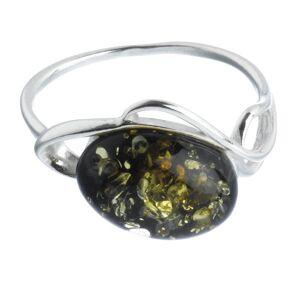 Nature D'Ambre Nature d 'Ambre 3111124Women's Ring Silver 925/1000Amber