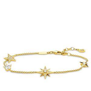 THOMAS SABO Women Vermeil Statement Bracelet A1916-414-14-L19v