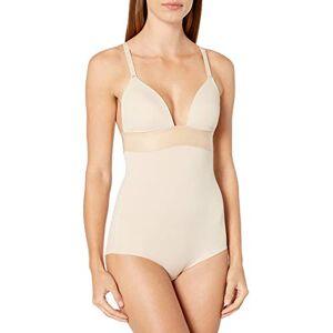 Maidenform Women's Endlessly Smooth-Plunge BodyBriefer Bodysuit, Beige (Latte Lift), 34C