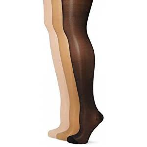 GABRIALLA 23-30 mmHg Medium Beige/Black/Nude H-340 Maternity Pantyhose Compression - Pack of 3