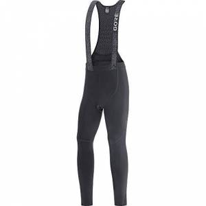 GORE WEAR Men's Thermo Cycling Bib Tights with Seat Pad, C5, L, Black