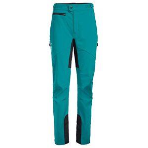 VAUDE Women's Qimsa Softshell Pants II, Turquoise, 36