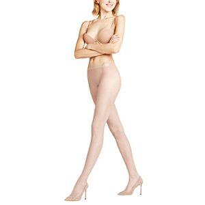 FALKE Women Net Tights - Sheer, Matt, Beige (Cocoon 4859), M-L, 1 Pair